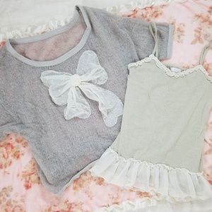 Liz Lisa Sweater and Tank Top Set
